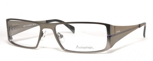 Glasögon A387C3 sida grå