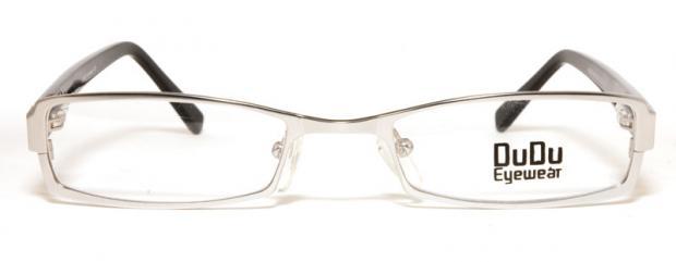 Glasögon DuDu61190026 front silver