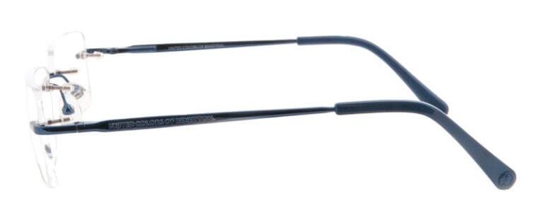 Garnityr glasögonbåge från United colors of Benetton BE03803 från sidan