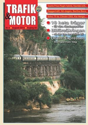 Omslag trafik och Motor Nr 4 2010