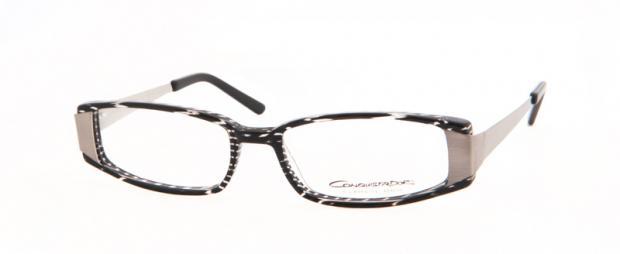 Conquistador glasögonbåge AM24 04 frontbild