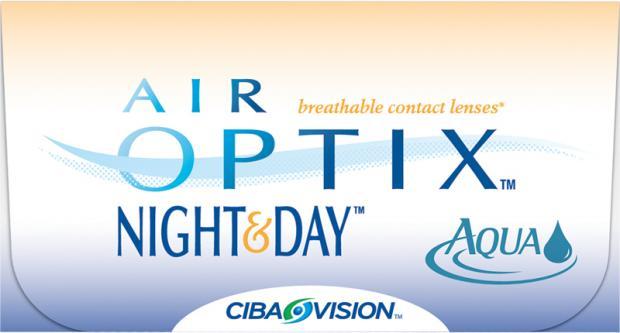 Bekväma dygnet runt linser från Ciba vision